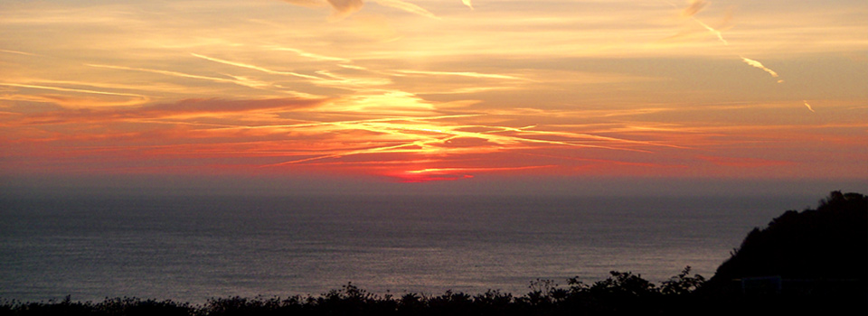 Sunset-Overstrand-Cliffs